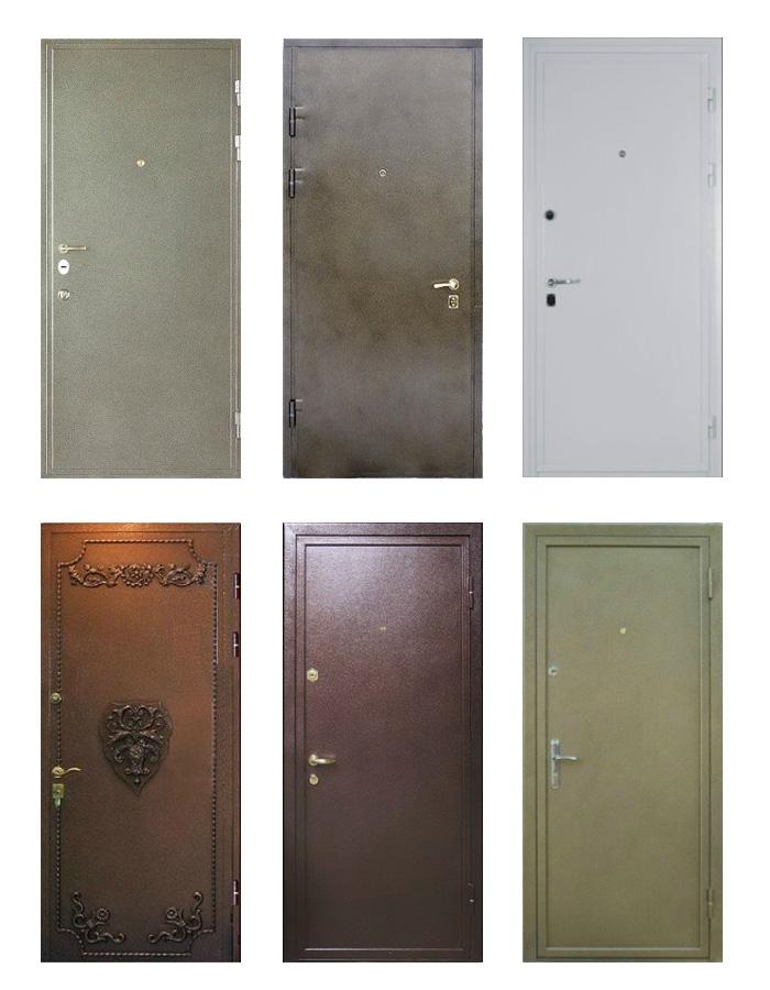 двери металлические входные двухстворчатые от производителя